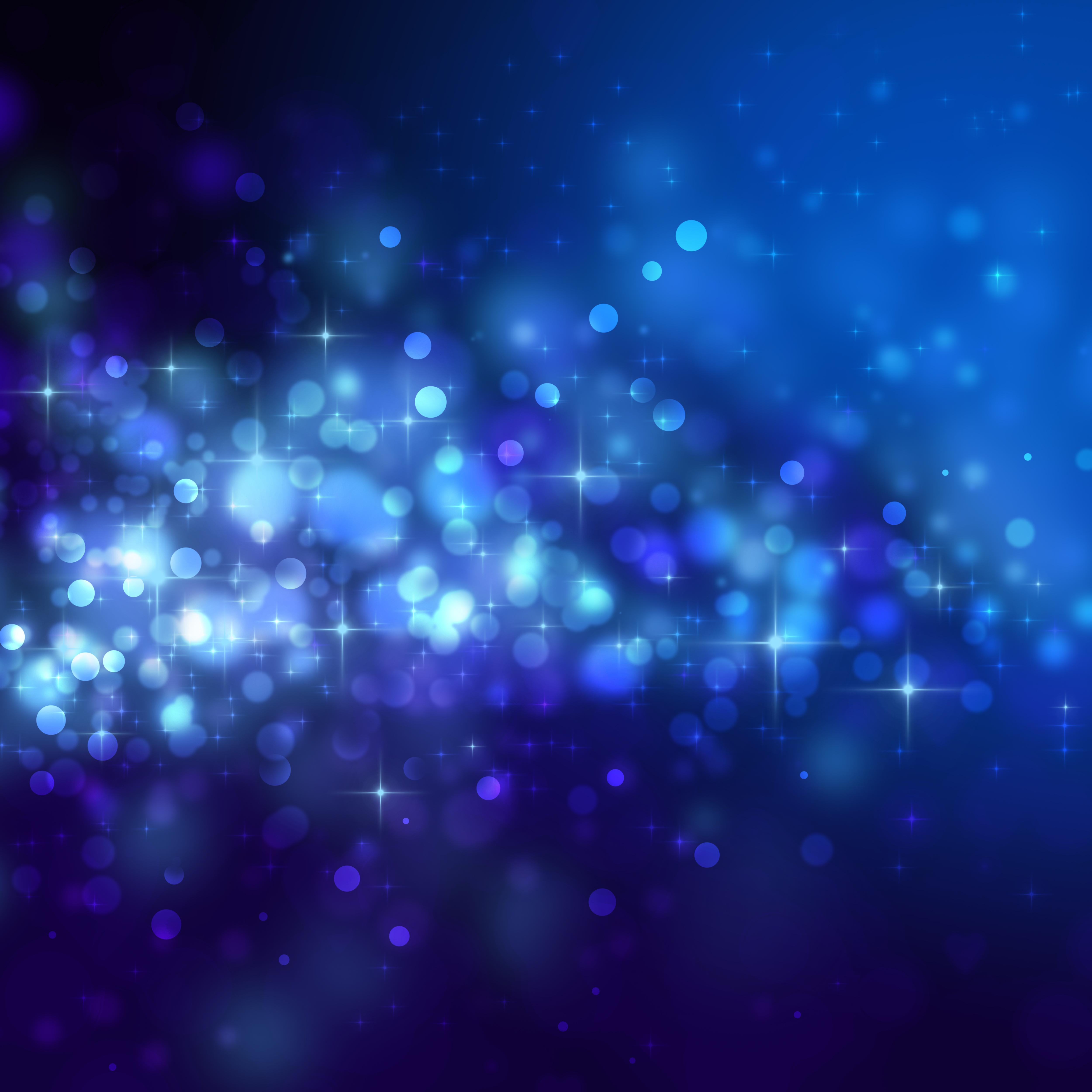 Sparkle blue background