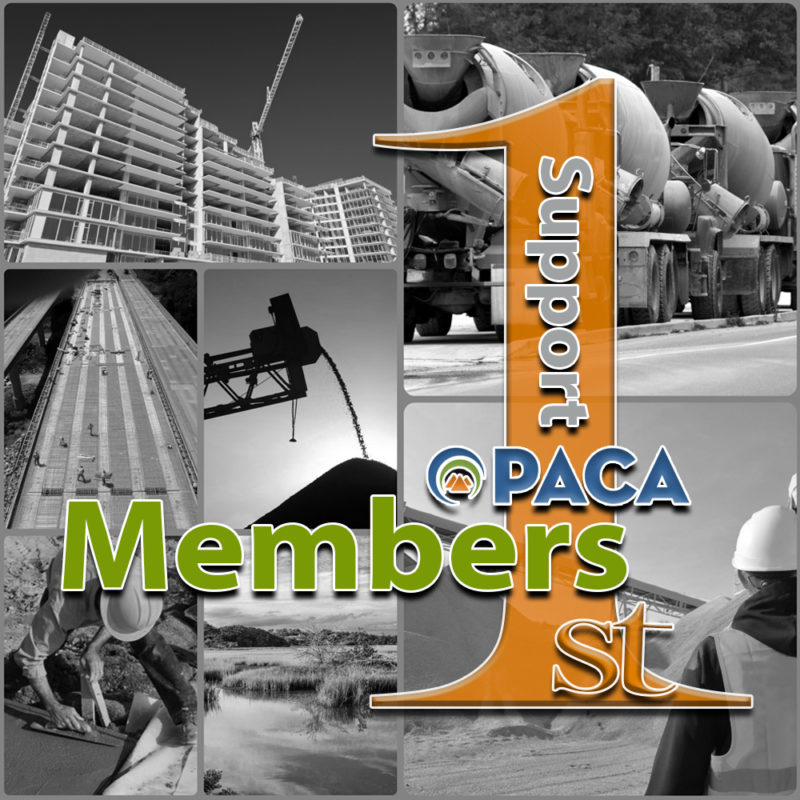 PACA Members 1st Graphic