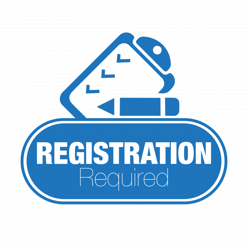 Registration required